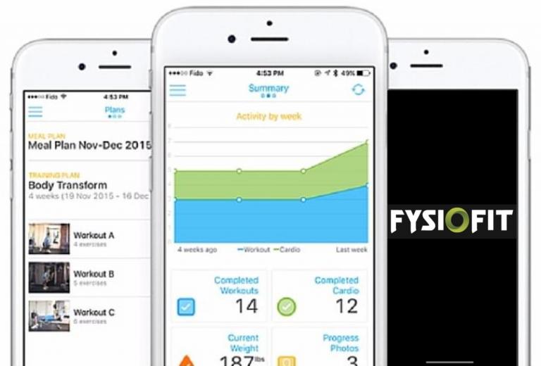 Fysiofit app