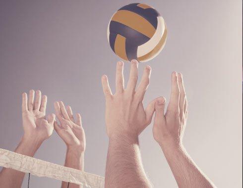 Spiller volleyball